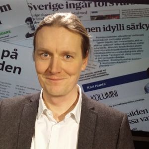 Forskare Johan Strang gäst 15.1.2016