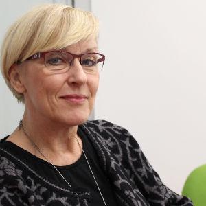 Marina Sjöholm, rektor för Tölö gymnasium, januari 2016