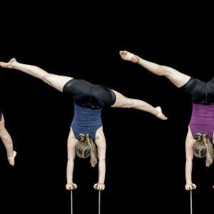 sirkus, akrobatia, käsilläseisonta, Sofia Kistol