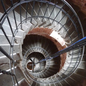 Spiralrappan i Bengtskärs fyr.