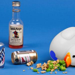 Badanka med alkoholförgiftning