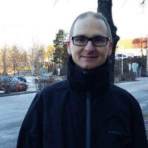 Luonto-Liittos verksamhetsledare Leo Stranius.