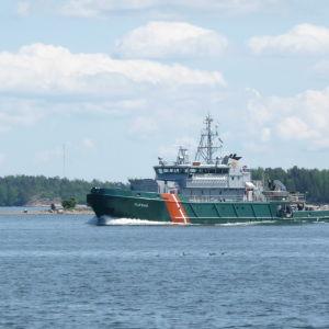 Sjöbevkaningsbåten Tursas