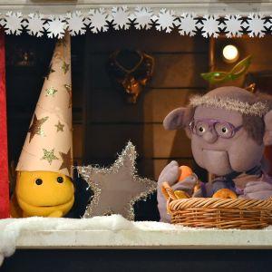 Vimmel och Murk ur tv-serien Jul i Hittehatt