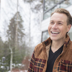 Sami Inkinen Ruokolahdella.