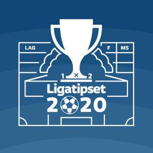 Logo för ligatipset 2020.