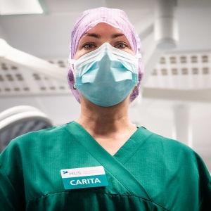 Carita Vuorenpää, sjuksköterska