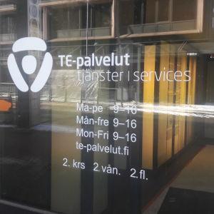 Arbets- och näringsbyrån i Kampen i Helsingfors.