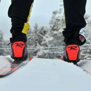 Andrea Julins skidor.
