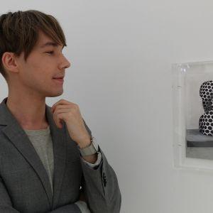 Ville Andersson on vuoden nuori taiteilija 2015. Kuvassa teos The pathos of things III.