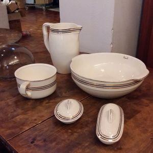 De kärl som införskaffades för personalens handtvätt på Svenska gården i Åbo, ska nu auktioneras ut.
