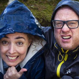 Jessica Edén och Peter Lüttge