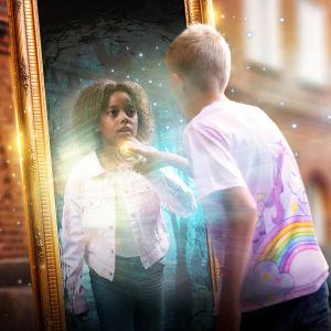 Spegeln på skolgården