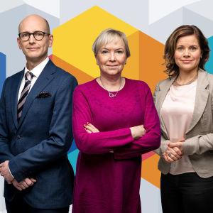 Peik Österholm, Carin Göthelid och Ann-Charlotte Åkerholm