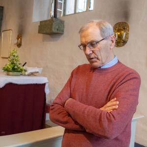 Erik Vikström, biskop emeritus.
