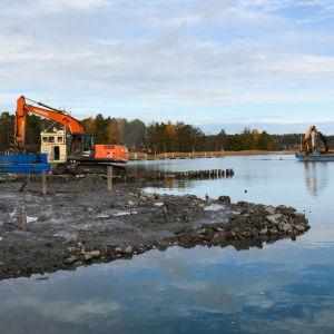 Nagu Gästhamn renoveras.