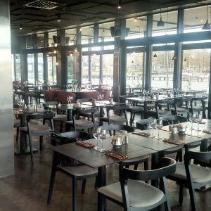 En tom restaurang