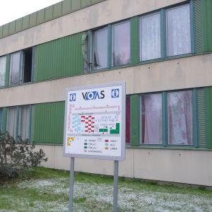 Brand vid Voas studentlägenheter på Brändövägen i Vasa