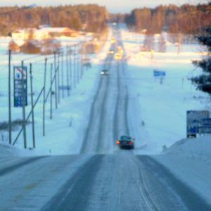 Strandvägen i Solf, Korsholm.