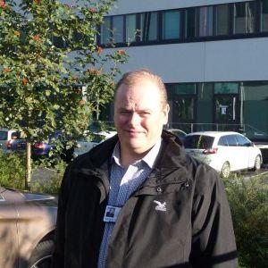 Utvecklingschef Stefan Råback vid Vasek
