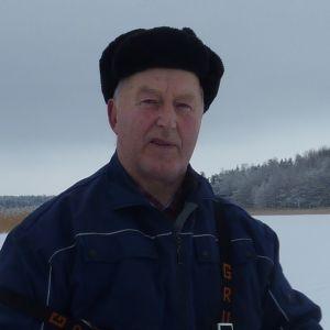 Fiskare Börje Holmberg.