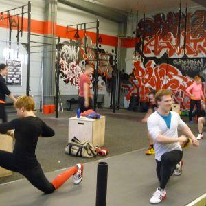 Gisela tränar Crossfit