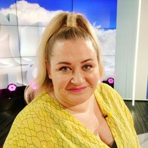 Manageri Carla Ahonius Puoli seitsemän -ohjelmassa
