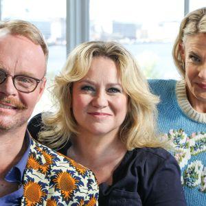 Ella Kannisen vieraina ovat näyttelijä ohjaaja Maria Sid Tukholmasta ja kuvataiteilija Hannu Palosuo Roomasta.