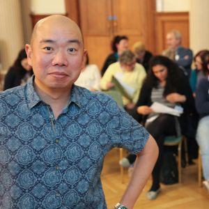 Cambridgen yliopiston perinnöllisyystieteilijä Giles Yeo selvittää ylipainoon liittyvää tutkimusta.