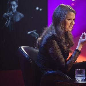Kompositören Andrea Eklund