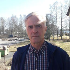 Fullmäktigeordförande Bengt-Johan Skullbacka i Kronoby