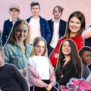 Finalisterna för MGP 2019.