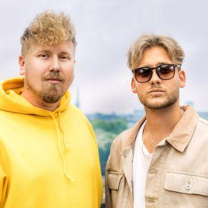 Allsång på Skansenin päätösjaksossa esiintyy Norlie & KKV.