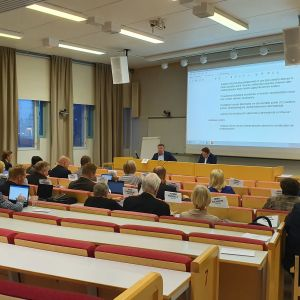Kymenlaakson sosiaali- ja terveyspalveluiden kuntayhtymän Kymsoten yhtymävaltuuston kokous