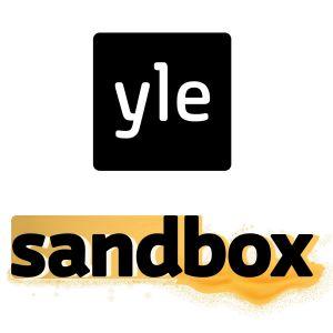 Kuvassa Yle Sandboxin logo.