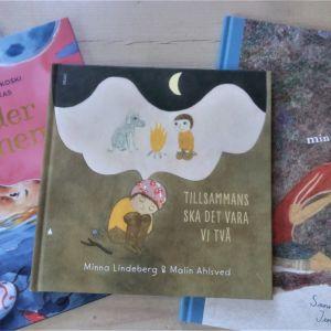 Tre finlandssvenska bilderböcker.