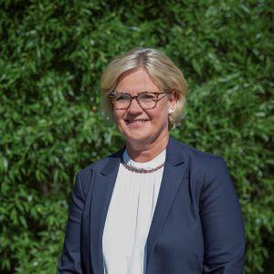 Oulun ammattikorkeakoulun rehtoriksi valittu Heidi Fagerholm.