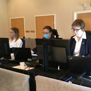 Kittilä-oikeudenkäynti Rovaniemen hovioikeudessa
