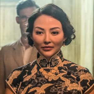 Elizabeth Tan näyttelee kiinalaispakolaista sarjassa Singaporen kosketus.