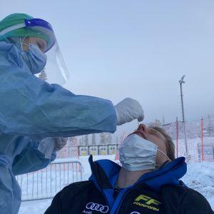 Koronatesti Ruka Nordicissa 2020