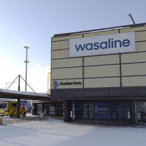 wasalines huvudkontor vid i hamnen i vasa