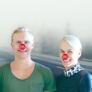 Janne Grönroos och Christoffer Strandberg med Näsdagsnäsor 2016