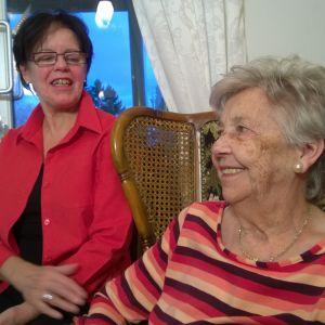 Monica och Alice Södergård