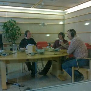 Studiossa meneillään Talvisotatietovisa 24.3.2015