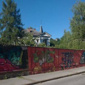 Grafitti i Ljubljana