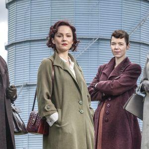 Uusi, 50-luvulle sijoittuva brittiläinen draamasarja Bletchleyn nelikko kertoo neljästä koodinpurkajasta.