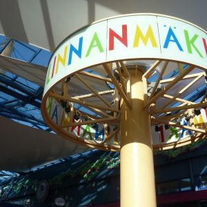Borgbackens logga där det står Linnanmäki.