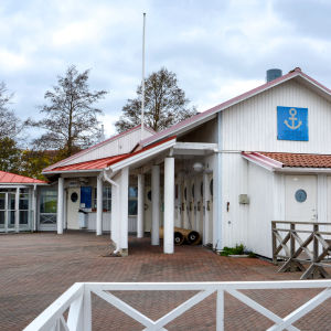 Hamnkontor, Pargas gästhamn.