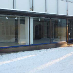 Tom affärslokal på Kungsgatan i Ekenäs