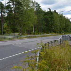 Skärgårdsvägen på Norrbyåsen.